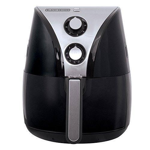black + decker hf110sbd fritadora de aceite de 2 litros sin