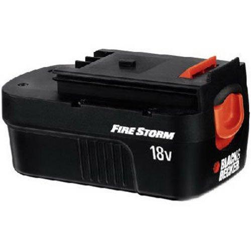 black + decker hpb18 18-volt slide-pack battery