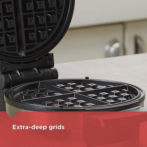 black+decker wmb500 maquina para hacer waffles waflera belga
