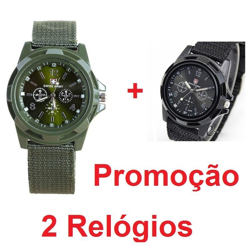 34dc9051a3c black friday 2 relógios masculino swiss army militar ofertão. Carregando  zoom.