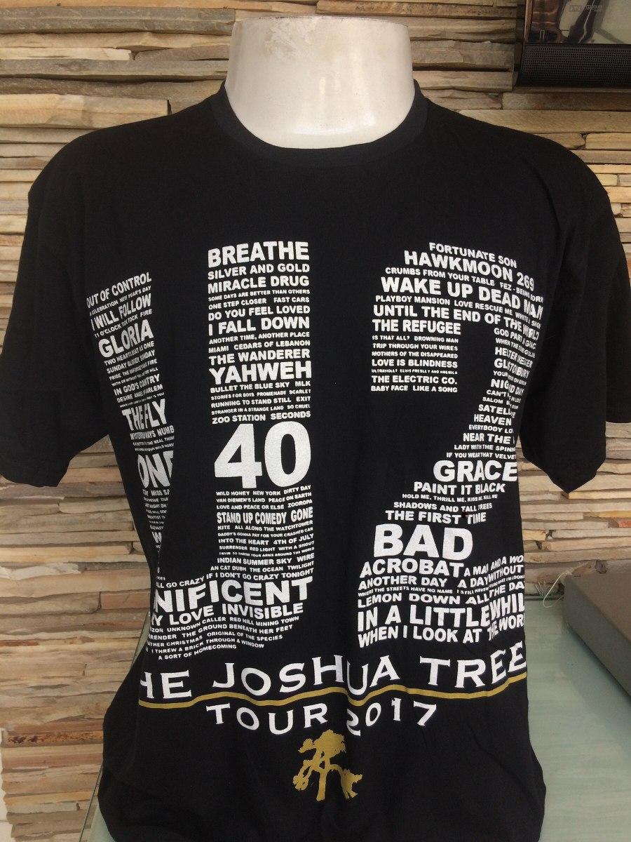 black friday de camisas de rock u2. Carregando zoom. 8a09700dcbd9f