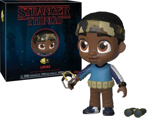 black friday funko pop lucas 5 stars stranger things origina