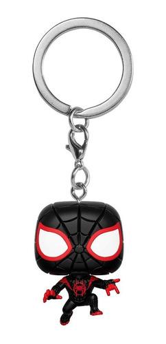 black friday funko pop miles morales spiderman black llavero
