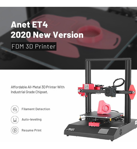 black friday impresor 3d anet et4 plus y et5