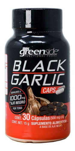 black garlic (ajo negro) (30 caps) greenside