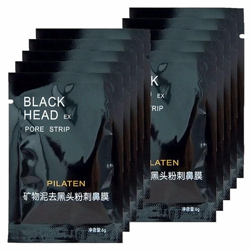 black head mascara removedora de cravos 10 unidades