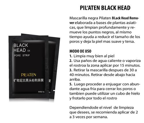 black head pilaten mascarilla limpieza facial original