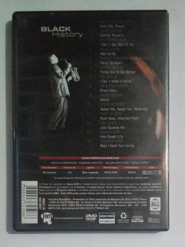 black history - tina turner marvin gaye james brown etc dvd