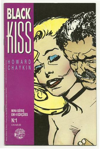 black kiss completa 1 ao 4 - para colecionadores!!!