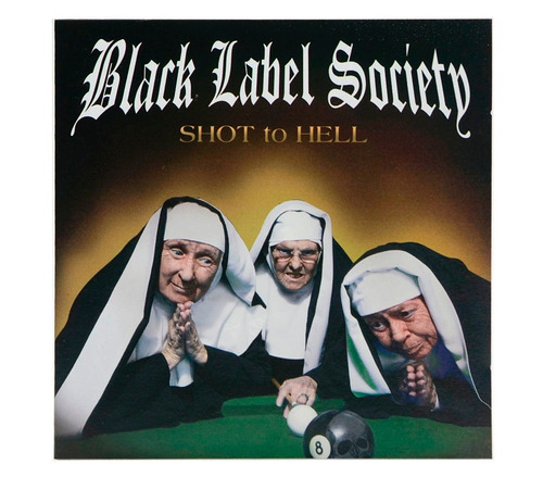 black label society - shot to hell (cd lacrado)