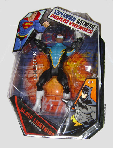 black lightning sin baf superman - batman public enemies