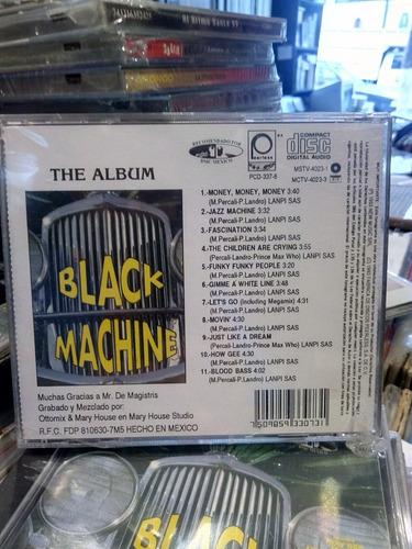 black machine the album cd dance
