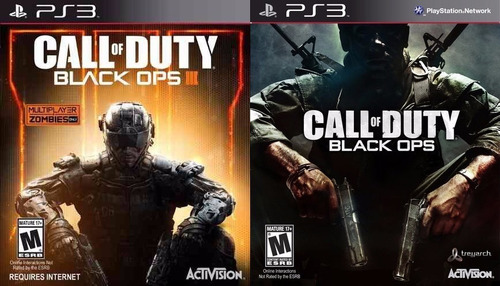 black ops 3 + black ops 1 playcom games