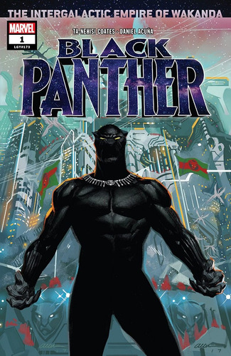 black panther #1 (2018) marvel lgy#173 pantera negra
