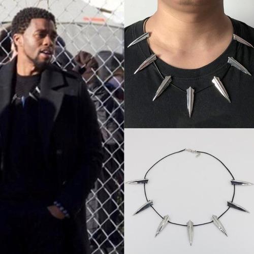 black panther collar rey t'challa wakanda pantera negra