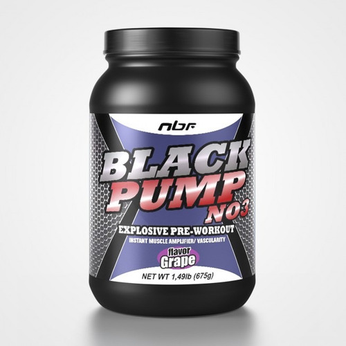 black pump 675g uva