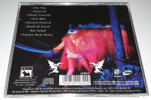 black sabbath - paranoid (cd lacrado) c/ ozzy osbourne