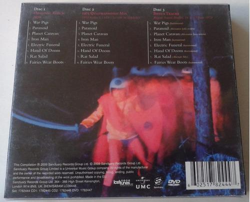 black sabbath paranoid deluxe edition double box 2 cds/1dvd