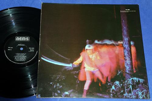 black sabbath - paranoid - lp - 1976 - uk capa dupla