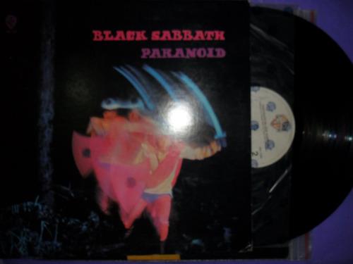 black sabbath - paranoid - lp vinilo made in usa