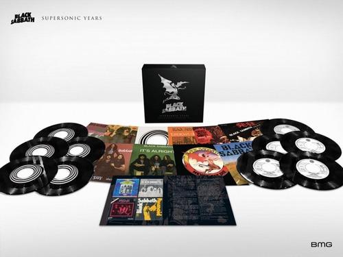 black sabbath supersonic years box 10 lp  singles vinilo