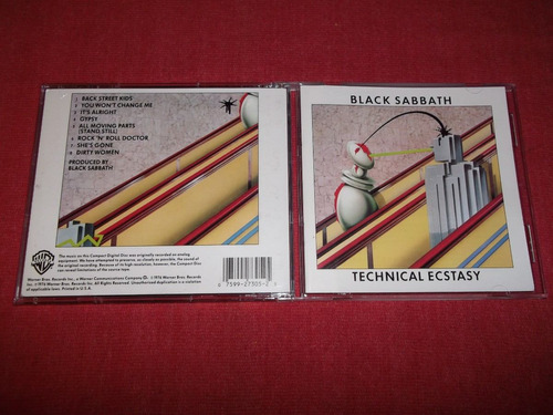 black sabbath - technical ecstasy cd imp ed 1990 mdisk