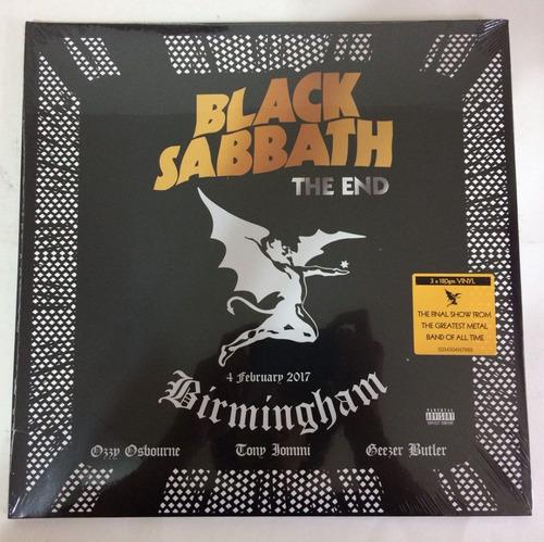 black sabbath -the end (live in birmingham) gatefold180g lps