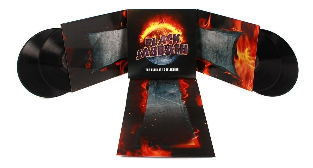 Black Sabbath The Ultimate Collection: Black Sabbath The Ultimate Collection Crucifold 4-lp 180g