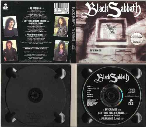 black sabbath -tv crimes- cd -u.k