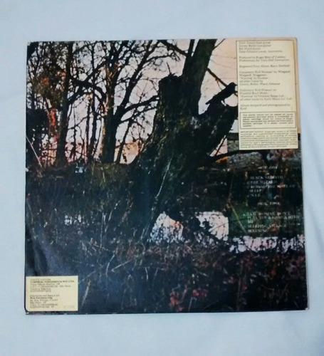 black sabbath vinil primeiro album