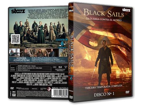 black sails temporada 3 presentacion unica en dvd!