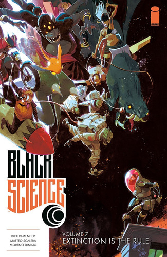 black science volume 7 extinction is the  rule tpb (2018)