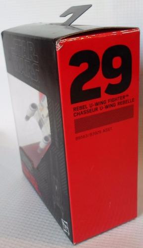 black series rebel u-wing fighter titanium #29 hasbro