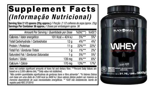 black skull whey protein