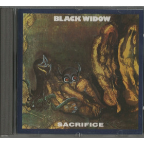 Black Widow -  Sacrifice   - Cd   -   Excelente