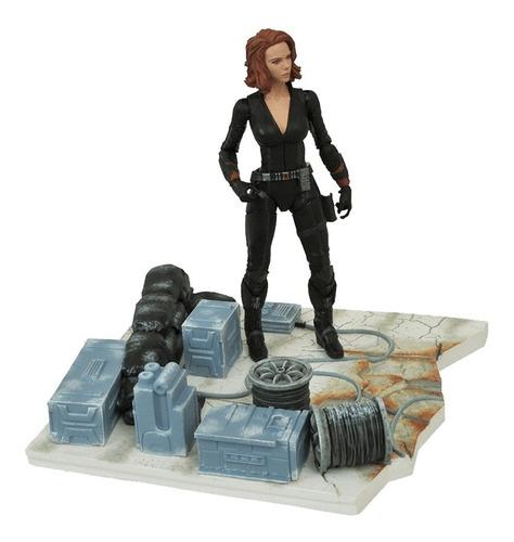 black widow - avengers: age of ultron -marvel select-diamond