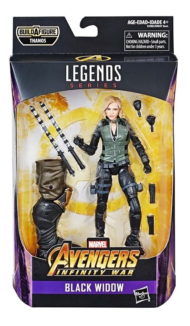 Black Widow Avengers Infinity War Marvel Legends