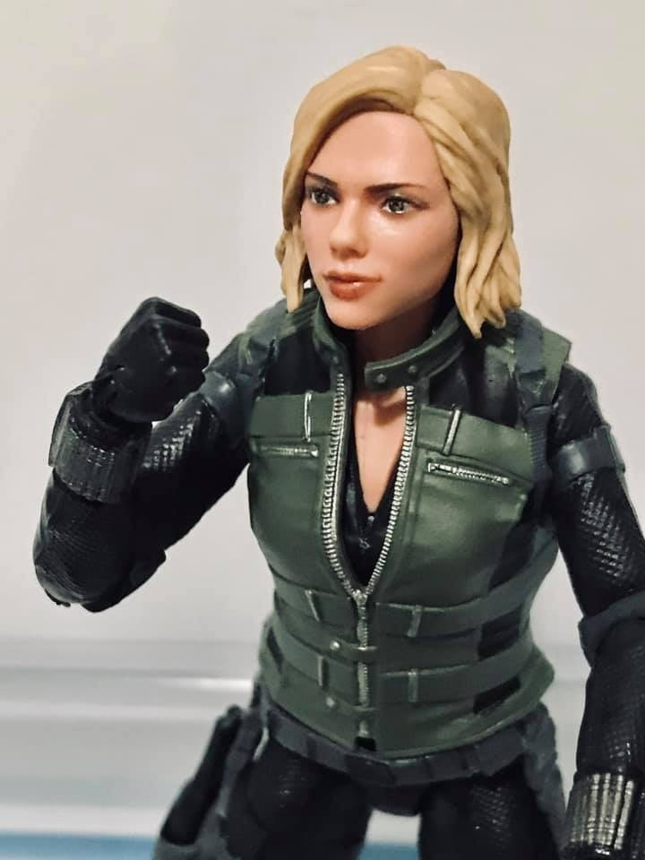 Black Widow Marvel Legends Avengers Infinity War