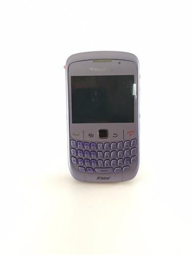 blackberry 8520 curve refabricados lila y blanco