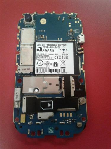 blackberry 8520 placa para retirar peças trekped cam boa