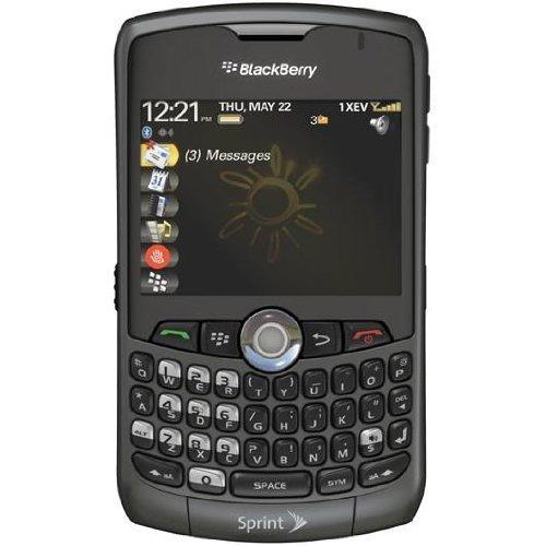 blackberry curve 8330 sin contrato sprint celular