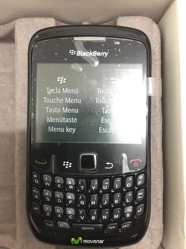 blackberry curve 8520 100%original nuevo