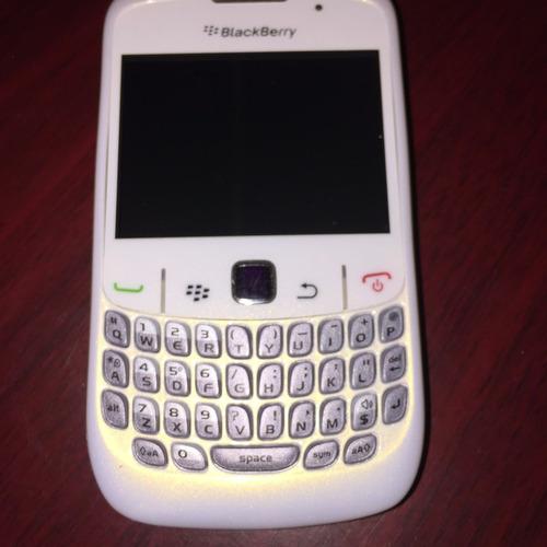 blackberry curve 9300 blanco