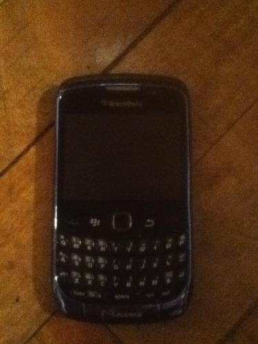 blackberry curve 9300 blue liberado con accesorios