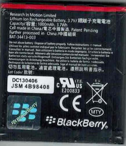blackberry em1 curve javelin 2 9360 9350 9370 original tiend