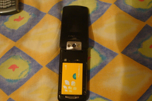blackberry flip 8220 funcional 100% falta tapa bateria