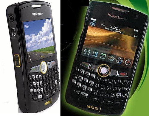 blackberry iden nextel 8350i legal para declarar en caja