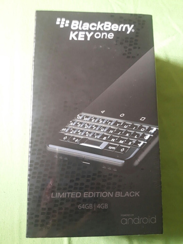 blackberry keyone bbb100-1- black edition dual sim 64gb 4gb