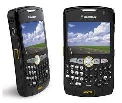 blackberry nextel black