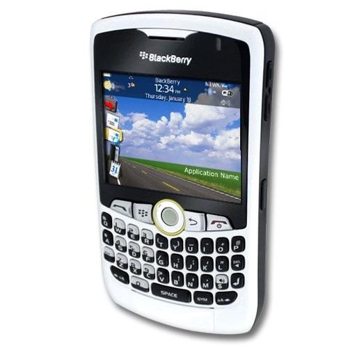 blackberry nextel curve blanca white nueva en caja radio